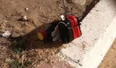 إلقاء قنبلة داخل غرفة تابعة لمحطة تكرير في سهل بلدة ايعات