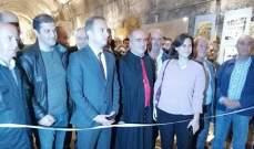 خضر افتتح بالتعاون مع منظمة اليونيسف معرض صور في متحف قلعة بعلبك