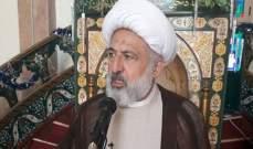 الشيخ الخطيب:للتواضع والإسراع بتشكيل حكومة وطنية جامعة تعكس نتائج الإنتخابات