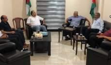 وفد من حماس التقى وفدا من الجبهة الشعبية: للتمسك بالأونرو ومواجهة استهدافها