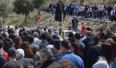 انطلاق مسيرة القربان المقدس من المحبسة الى دير مار مارون في عنايا