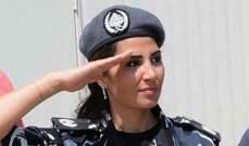 وكيل سوزان الحاج: مستمرة في اكمال خدمتها في سلك قوى الامن