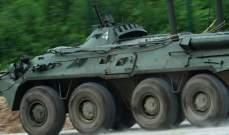 """صحيفة روسية: قوات """"النمر"""" تستولي على مدرعة تتسلح بها جيوش الناتو"""