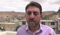 الحجيري: العمل جار لتنفيذ قرار ازالة مخيمات النازحين المشيدة بالاسمنت