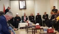 ذبيان زار السفارة السورية: انتصار سوريا هو انتصار لكل الاحرار