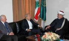 المفتي سوسان استقبل مرشح المستقبل حسن شمس الدين