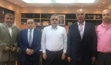 كركي عرض اوضاع الضمان مع وفد من ارباب العمل في طرابلس