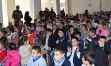 الكتيبة الهندية تنظم محاضرات لتلاميذ المدارس حول الرعاية بالصحة وسلامة الاسنان