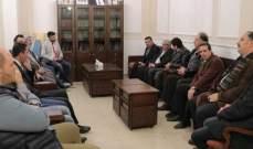 أسامة سعد استقبل وفداً من حركة التلاقي والتواصل