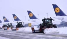 تحذير من سوء الأحوال الجوية في ألمانيا وإلغاء رحلات جوية عدة من مطار ميونيخ