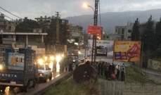 جريح في حادث سير في كفرشلان الضنية