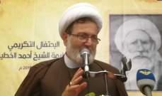 حسن بغدادي:يجب الإسراع بتشكيل الحكومة العتيدة لمعالجة الأوضاع الإقتصادية المزرية