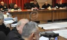 المطارنة الموارنة: نناشد السلطات ببذل كل جهدهم لتسريع عودة النازحين