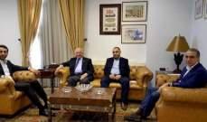 شبيب استقبل رئيس جمعية المقاصد الخيرية الإسلامية