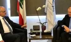 حسن خليل عرض الأوضاع العامة مع سفيري استراليا وباكستان