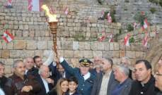 شعلة الاستقلال تنطلق من قلعة راشيا