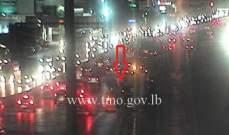 التحكم المروري:لتوخي الحذر وتخفيف السرعة آخر جسر أنطلياس بسبب أعمال صيانة