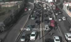 التحكم المروري: حركة المرور كثيفة من البربير باتجاه كورنيش المزرعة
