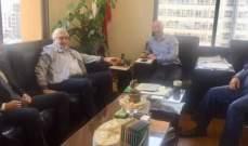 وزير البيئة بحث مع الصمد وفتفت سبل معالجة أزمة النفايات في الضنّية