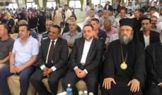 المطران منصور بتخريج ثانوية برقايل الرسمية طالبات الشهادات:منطقتنا بحاجة للعلم