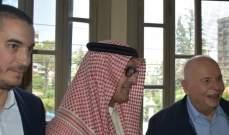 كبارة يستقبل البخاري والجسر ووفود شعبية للتهنئة باعادة انتخابه نائبا