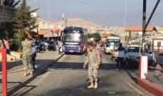 سانا:وصول دفعة من النازحين العائدين من لبنان عبر معبر الدبوسية إلى قراهم