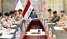 رئيس مجلس الوزراء العراقي دعا إلى تأمين الحدود بشكل كامل مع سوريا