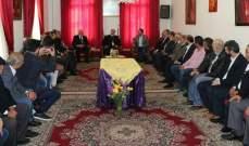 لمرشح عن المقعد السني في دائرة حاصبيا ومرجعيون زار المطران حداد