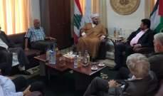 """وفد من حركة أنصار الله زار حركة الأمة:لمواجهة التحديات الخطرة نتيجة """"صفقة القرن"""""""