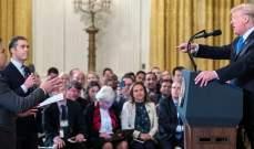 حكم قضائي بإلزام البيت الأبيض بإعادة تصريح الدخول لمراسل سي إن إن