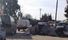 النشرة: زحمة سير خانقة على طريق الزهراني الغازية بسبب الحفريات