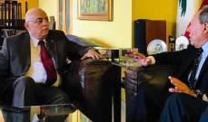 أبو سعيد زار اميل لحود وبحث معه الملف السوري