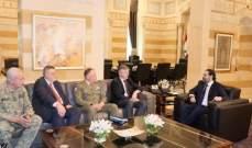 لاكوروا التقى الحريري: سنواصل العمل مع الحكومة وجميع الشركاء اللبنانيين