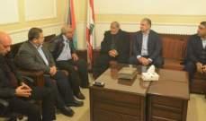 سعد استقبل وفدا من حماس: العالم العربي لا يقدم شيئاً للشعب الفلسطيني