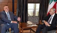 بري التقى كوبيش وعرض معه للاوضاع في لبنان والمنطقة