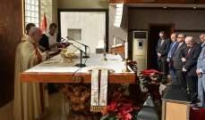 مطر: البابا فرنسيس طلب منا التمسك بإيمان أجدادنا والالتفاف حول البطريرك