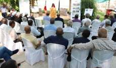 توزيع شهادات تدريب وارشاد زراعي في مجال الادارة المتكاملة للموارد المائية