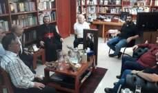 الرابطة السريانية اثر لقاء مطران هولندا للسريان: إنتشارنا في خدمة صمود الشرق
