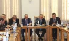 لجنة الشؤون الخارجية عرضت مع لاسن العلاقات اللبنانية الاوروبية