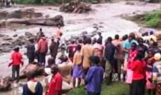 إرتفاع عدد ضحايا انزلاقات التربة بسبب الأمطار شرقي أوغندا إلى 34 شخصا