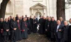 الراعي أنهى زيارته الى دولة الفاتيكان بلقاء الكاردينال بياترو بارولين