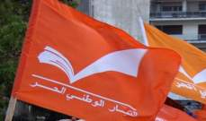 الوطني الحر: بعض الحاقدين أزالوا صورة عملاقة لرفول عن أحد المباني بزغرتا