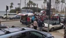 النشرة: جريحان في حادث سير وقع مقابل قلعة صيدا
