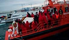 سلطات إسبانيا أنقذت 778 مهاجرا على متن عدة زوارق في غرب البحر الأبيض المتوسط