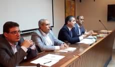 محافظ البقاع التقى رؤساء بلديات قضاء زحلة وعرض معهم سبل التعاون