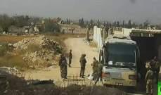 خروج 39 حافلة من دوما تقل مسلحي جيش الإسلام مع عائلاتهم إلى جرابلس