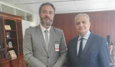 """رئيس جهاز العلاقات الخارجية بالقوات التقى الأمين التنفيذي لـ""""الإسكوا"""""""