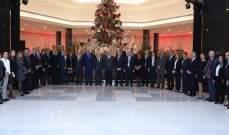 الرئيس عون لوفد قطاع النبيذ:نعمل لاتفاقات خارجية لتسويق النبيذ اللبناني