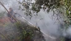 الدفاع المدني: إخماد حريق شب في حقلٍ من القصب في وادي شحرور