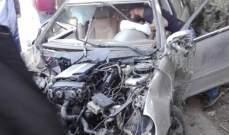 جريحان بانحراف سيارة واصطدامها بالأشجار في الهرمل
